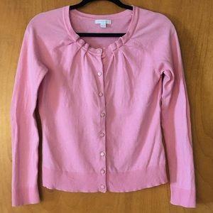 New York & Company Pink Cardigan